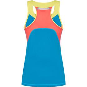 La Sportiva Joy Tank Women, neptune/hibiscus